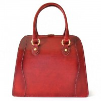 Saturnia Santa Croce Lady Bag In Real Leather
